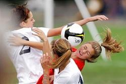High School Female lacrosse concussion