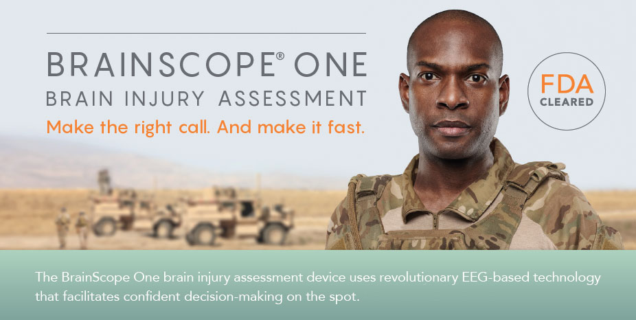 BrainScope is currently utilized in EDs, urgent cares and within the US military.